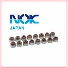 16 OEM Japan Honda Valve Stem Seals Full Set INTAKE + EXHAUST
