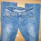 Womens Size 2 Regular American Eagle Artist Distressed Denim Stretch Jeans