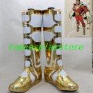 Samurai Sentai Shinkenger Power Rangers Forest Animal Shinken Yellow cosplay shoes