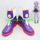 Hyperdimension Neptunia Planeptune Purple Heart Neptune Cosplay Boots shoes