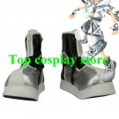 Kingdom Hearts II Sora Final Form Silvery Version Cosplay Boots shoes #KH018