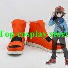 Pokemon Pocket Monster Digital Monster Hilbert Cosplay Boots shoes shoe PP017