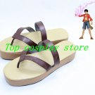 One Piece Monkey D Luffy Cosplay Shoes boot shoe boot hand made