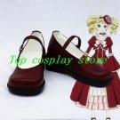 Black Butler Kuroshitsuji Cosplay Elizabeth Wine Cosplay Boots shoes cute Ver #B