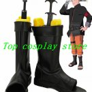 Naruto Shippuden Anime Uzumaki Naruto the last Cosplay Shoes Boots Custom Made