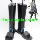 Naruto Uchiha Sasuke Cosplay Boots shoes Black new version shoe boot