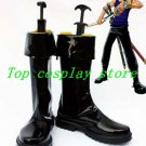 One Piece Roronoa Zoro Two Years Later Cosplay black shoes boots #OP06 shoe pu v