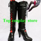 Axis Powers Hetalia Prussia Buckle Belt Lace Up Cosplay Boots shoes high heel