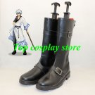GINTAMA Sakata Gintoki shorter cosplay shoes boots shoe boot shoter ver