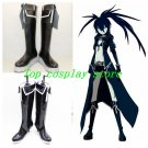 Vocaloid MIKU Black Rock Shooter cosplay shoes boots shoe boot flat ver