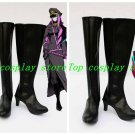 Vocaloid Megurine Luka Meiko Black Hight Heel Cosplay Boots shoes #VOC073 shoe