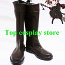 Hetalia Axis powers Denmark Cosplay Shoes Boots Version B #APH034