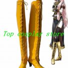 Vocaloid Diva Megurine Luka Cosplay High Boots shoes Yellow #VOC012 shoe boot