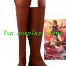 Touhou Project Hoan Meirin/Hong Meiling Cosplay Boots shoes #TP25 shoe boot