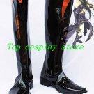 Guilty Gear XX Testament Cosplay Boots shoes black long Ver #GG007 shoe boot