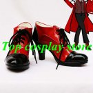 Black Butler Kuroshitsuji Cosplay Grell Sutcliff Red & Black Cosplay high Heel V