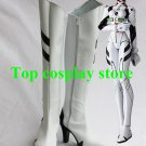 Neon Genesis Evangelion Ayanami Rei Rei Ayanami White Cosplay Boots shoes EVA 06