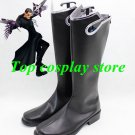 Kingdom Hearts Cosplay Xigbar Black Cosplay Boots shoes #KH007 shoes boot