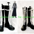 D.Gray-Man D Gray-Man Allen Walker Cosplay Boots shoes with zipper #DGC029 shoe