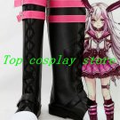 Black Butler Kuroshitsuji Ciel Phantomhive Red Hat Anime Game Cosplay Shoes boot