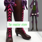 Black Butler Alois Trancy high heel bow ver Cosplay Boots shoes shoe boot  #NC20