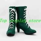 Sailor Moon Sailor Jupiter Kino Makoto Cosplay Shoes Boots shoe boot  #SC035