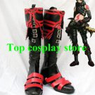 Hack//G.U. Hack haseo PU Leather Cosplay Boots shoes shoe boot