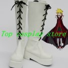 Vocaloid Fate Rebirth Kagamine Len White Cosplay Boots shoes #VOC031 shoe boot