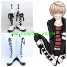 Hitman Reborn Belphegor Belufuegolu Cosplay Boots shoes shoe boot hand made