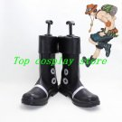 One piece Portgas D. Ace Portgas D Ace Cosplay Boots shoes Custom Made #OP009