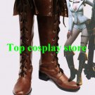 Devil May Cry 4th Lady Cosplay Show brown Version B Boots shoes shoe boot