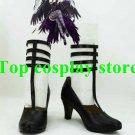Puella Magi Madoka Magica Cosplay Homura Akemi Black Cosplay Shoes #PM033 shoe