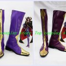 Code Geass Lelouch of the Rebellion Zero Cosplay Shoes Boots shoe boot two vers