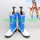 Final Fantasy X-2 Rikku's Rikku White and Blue Cosplay Boots  shoes shoe boot