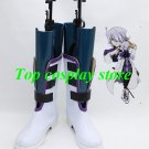 Pandora Hearts Xerxes Break Xerxes Break White & Black Cosplay Boots shoes shoe