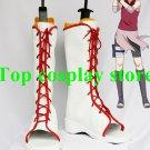 Naruto Sakura Haruno Haruno Sakura Ninja White Cosplay Boots shoes #NA shoe boot