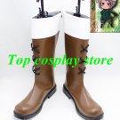 APH Hetalia Cosplay Axis Powers Hetalia Switzerland Brown Cosplay Boots shoes