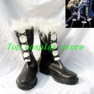 D.Gray-man D.Gray-man Jasdero Black Short Cosplay Boots shoes #DGC003 shoe boot