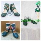 Sailor Moon Sailor Neptune Cosplay Shoes green Ver #SC038 boots shoe boot