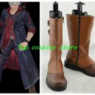 Devil May Cry 4 Nero Cosplay Boots shoes Version B #DM008 shoe boot