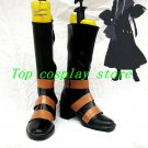 Black Butler Cosplay UnderTaker Cosplay Boots shoes brown&black Under Taker