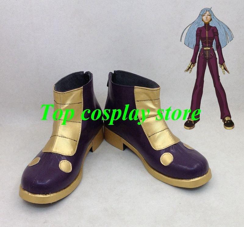 KOF The King of Fighters KOF Cosplay Kula Diamond Cosplay Shoes boots shoe boot