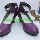 Sailor Moon Venus Minako Aino Cosplay Shoes boots purple #TS161 hand made Custom made