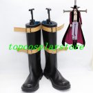 One Piece Dracule Mihawk Cosplay Shoes Boots Hand Made custom-made for Halloween Christmas de3