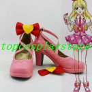 Aikatsu! Ichigo Hoshimiya Pink Cosplay Shoes boots pink ver #AIK003
