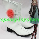 Amnesia The Dark Descent The heroine Cosplay Shoes Boots white with flower #AMN003