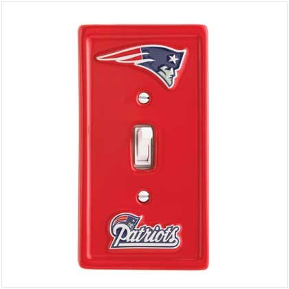 NFL New England Patriots Switchplate