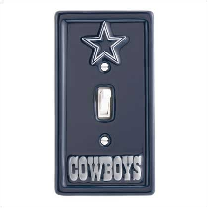 NFL Dallas Cowboys Switchplate