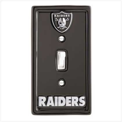 NFL Oakland Raiders Switchplate