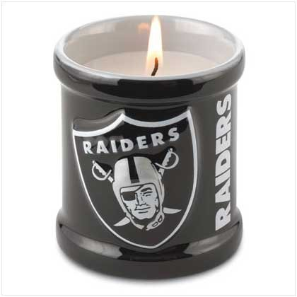 NFL Oakland Raiders Candle